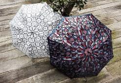 槙田商店の傘の一つ「Stig Lindberg Umbrella Collection」=槙田商店提供