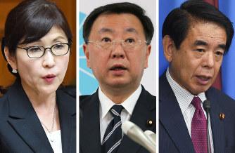 安倍首相:細田派に「四天王を作りたい」 - 毎日新聞