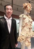 ファッションデザイナーの津村耕祐さん=東京都港区のスパイラルガーデンで2017年5月10日、野村房代撮影