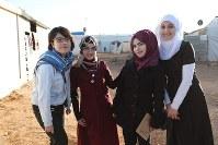 シリア難民と佐々木千夏さん