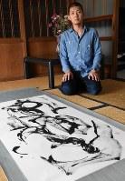 「見てくれる人の心に迫る作品を」と話す山田さん