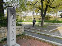 徳川秀忠が本陣を置いた御勝山は小さな古墳だった=大阪市生野区勝山北3で、松井宏員撮影