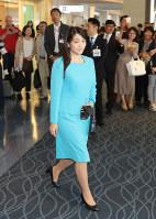 ブータン訪問のため、羽田空港を出発される眞子さま=2017年5月31日午前10時56分、代表撮影