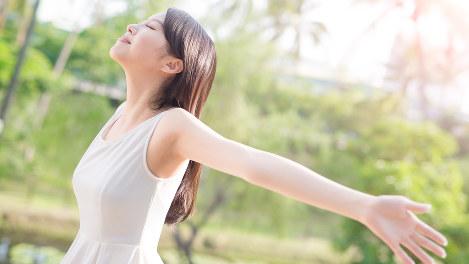 女性の健康バナー