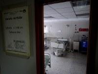 国立小児科病院の空き病室。400床あるベッドのうち150床しか利用されていない=カラカスで2017年5月23日午前11時58分、朴鐘珠撮影