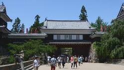 作品に登場する旧家・陣内家のモデルになった上田城跡