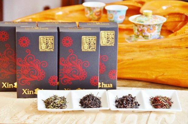 「LUXURY SPARKLING TEA」にも使用する茶葉