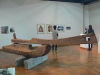 ときわ湖水ホールで開催中のコレクション展