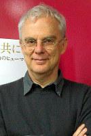 映画「ローマ法王になる日まで」を監督したダニエーレ・ルケッティ監督=東京都内で2017年4月、木村光則撮影