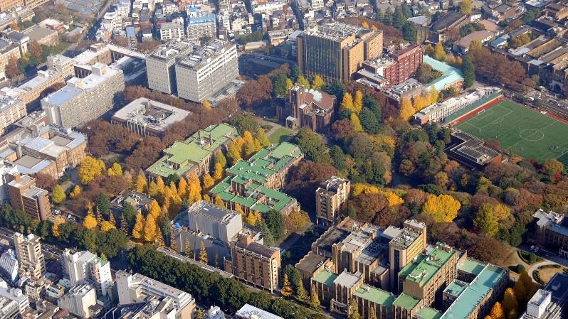 東京・文京区の東京大学本郷キャンパス