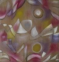 1920年 油彩・板 52×51センチ セゾン現代美術館蔵