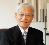 「大和郡山で自然に恵まれ、少年時代を過ごした」と話す理化学研究所理事長の松本紘さん、中西満撮影