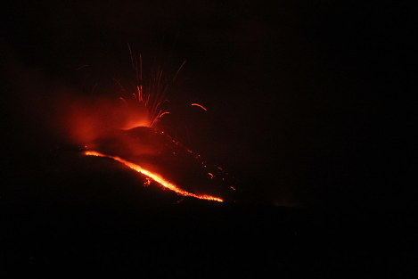 In Photos: The heat is back on as Nishinoshima erupts after 1 1/2-year rest