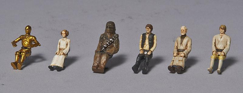 figurine star wars 1/72