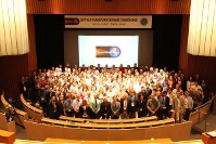 今年5月に東京で開かれた地球防衛会議に世界中から集まった専門家たち=東京都江東区の日本科学未来館で