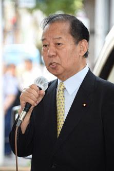 自民党の二階俊博幹事長=東京都北区王子で2017年6月23日午前11時16分、丸山博撮影