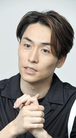 Tetsuya from J-pop group Exile. (Mainichi)