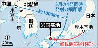 岩国基地と北朝鮮ミサイル