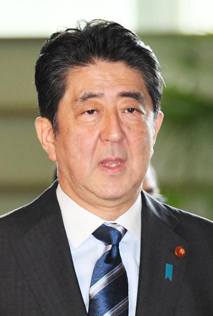 Prime Minister Shinzo Abe (Mainichi)