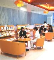 国立がん研究センター東病院がん関連情報コーナー=坂本さん提供