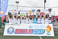 鹿島アントラーズジュニアAが、EXILE CUP 2017 関東大会1で初優勝を果たした