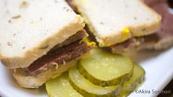 ソルトビーフのサンドイッチ