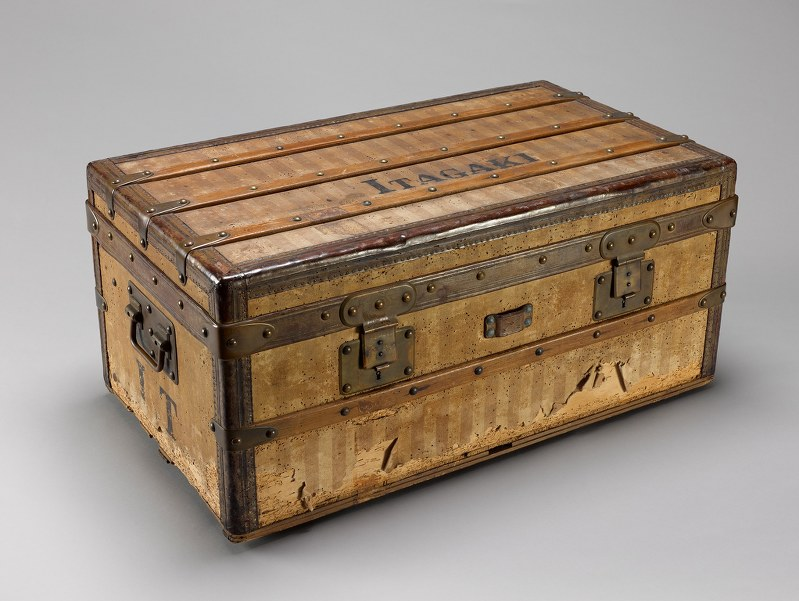 The Louis Vuitton trunk purchased by Itagaki Taisuke (Photo courtesy of the  Kochi Liberty and People s Rights Museum) 0e6c1b7a35e6e