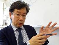稲葉睦・北海道大教授