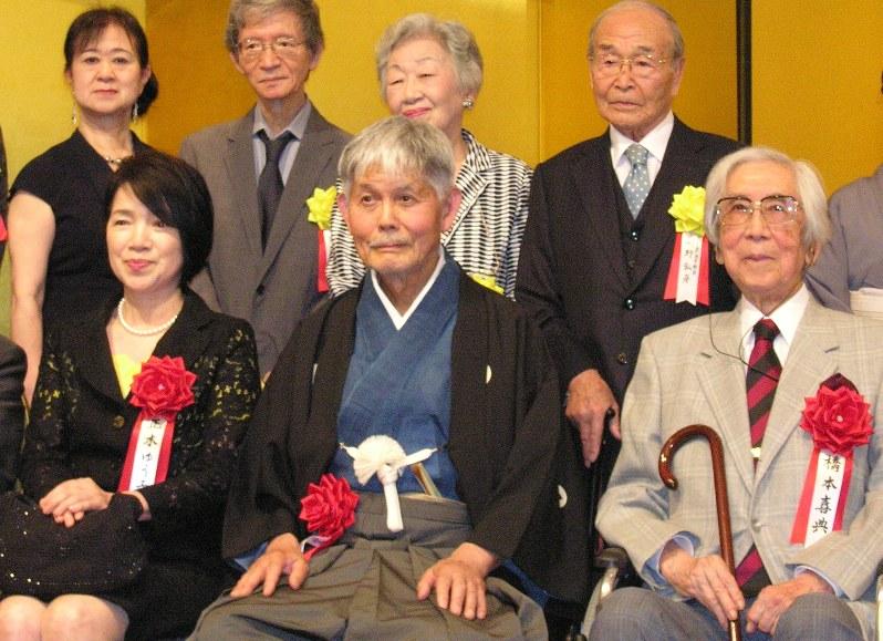 蛇笏賞・迢空賞:贈呈式 高橋さん、正木さん、橋本さんを表彰 | 毎日新聞