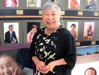 「60歳から本当の顔になってくるんですよ」と笑顔で語るアカシの明石智津子取締役