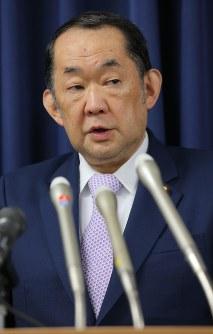 Justice Minister Katsutoshi Kaneda (Mainichi)