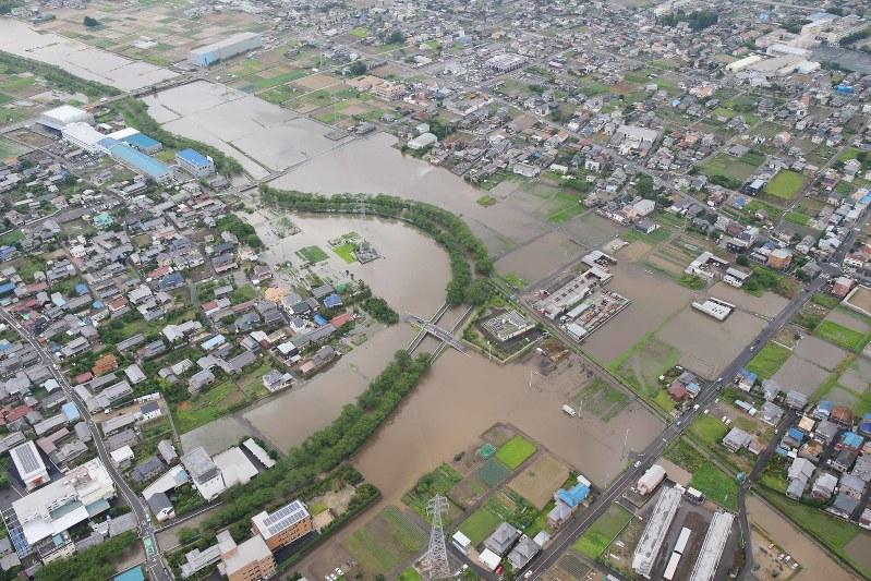 Torrential Rain Triggers Evacuation Order In Aichi Pref City