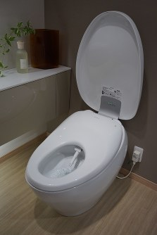 Toto's newest luxury bidet toilet the
