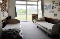 大規模入所施設の一室=宮城県大和町の船形コロニーで、西田真季子撮影