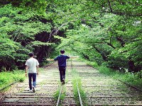 廃線を歩ける京都市の蹴上インクライン=SNAPLACE提供