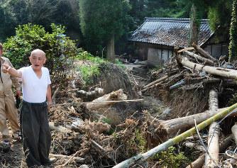 九州豪雨:福岡最古の仏堂「普門...