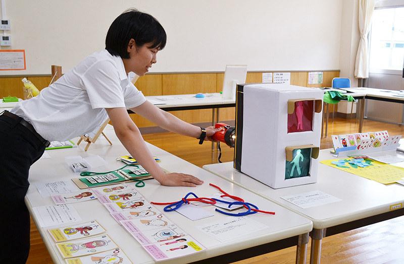 教材教具展:愛情込めた手作り教材 加西特別支援学校、初の一般公開 ...