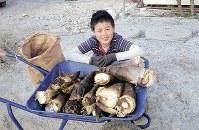 平光太さん(14) 「お母さんを大切にしたい」=家族提供