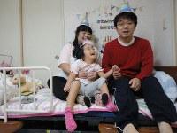 松林美咲さん(6) 「かけがえのない命を授かりました。いとしい娘。支えていただいた方々に日々感謝です」=家族提供