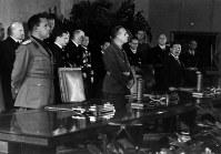 ベルリンで行われた日独伊三国同盟の調印式