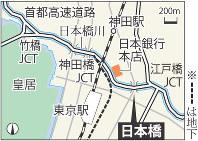首都高速道路と日本橋
