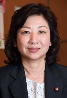 総務相兼女性活躍担当相に決まった野田聖子氏=竹内紀臣撮影