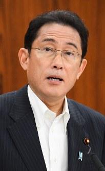 岸田文雄氏=川田雅浩撮影