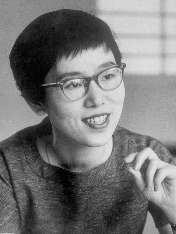 山崎豊子さん=1960年1月撮影