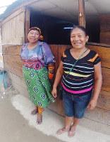 クナ族の女性=パナマ・カルティ島で、吉田正仁さん撮影
