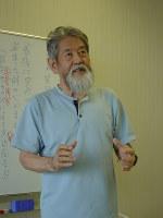 神山五郎さん=堤哲さん撮影