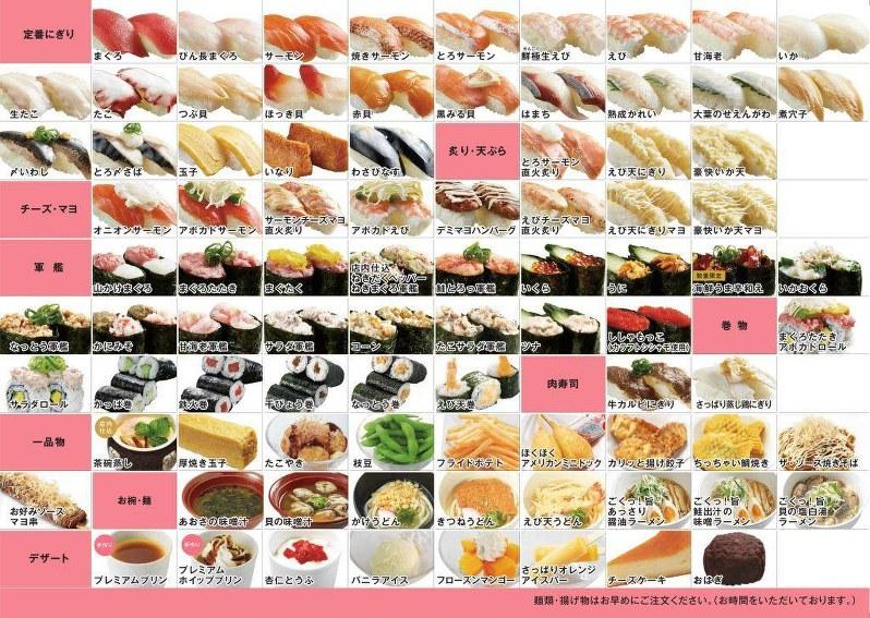 かっぱ寿司「食べ放題」平日のランチ・ディナータ …
