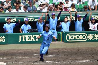 【夏の甲子園 】滝川西高校野球部メンバーと出 …