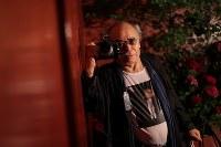 写真家の荒木経惟さん=東京都新宿区で2017年8月7日、後藤由耶撮影