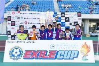 EXILE CUP 2017 関西大会2を制した箕谷Red Dragon